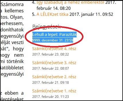 nincs hely a parazitáknak)