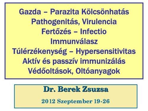 parazita orvoslás indexe
