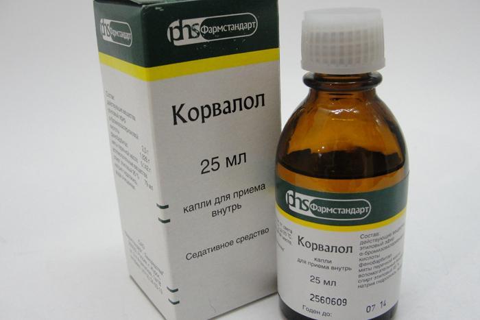 Tabletták és cseppek Corvalol: használati utasítás