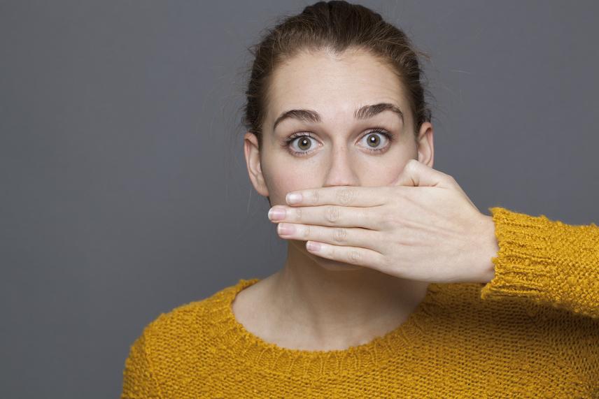 rossz lehelet nyálka szájszárazság