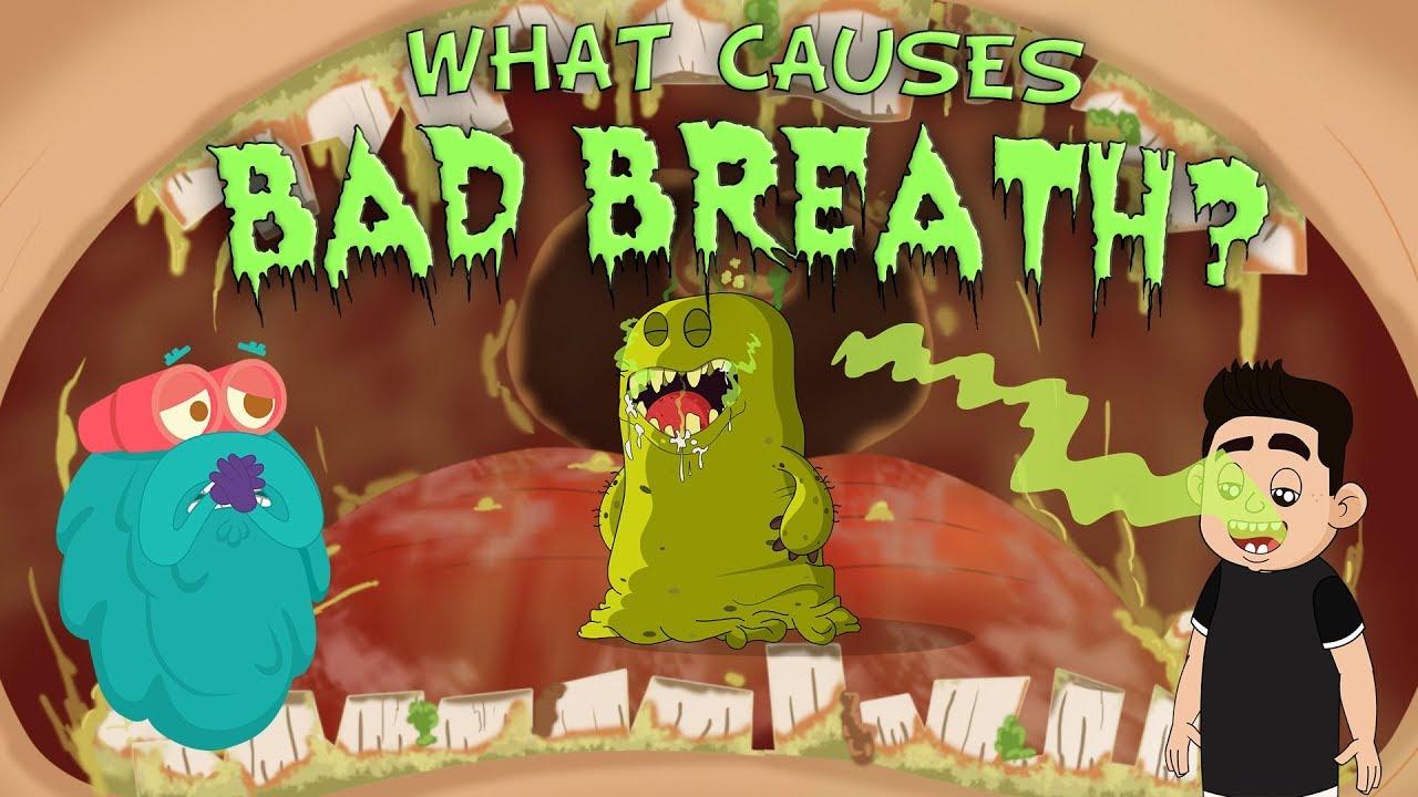 halitosis a gyomorból