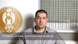 trombózis és paraziták