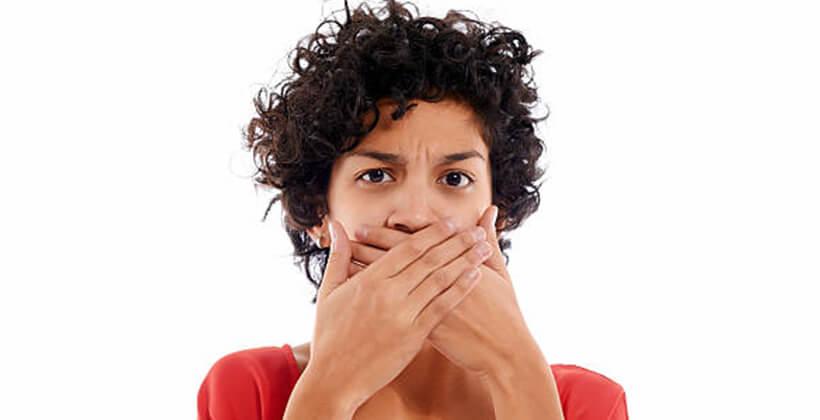 a rossz lehelet és szárazság tünetei