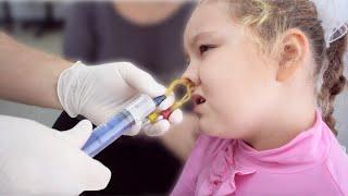 Az emberi test paraziták elleni drog - Férgek a szájból